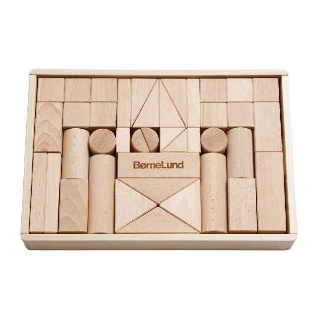 BorneLund(ボーネルンド)のボーネルンド オリジナル積み木M白木 キッズ/ベビー/マタニティのおもちゃ(積み木/ブロック)の商品写真