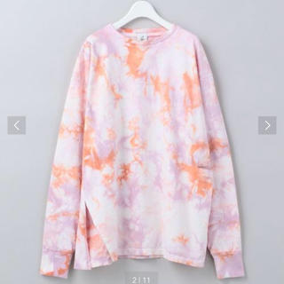 BEAUTY&YOUTH UNITED ARROWS - 6 ROKU TIE DYE ダブルスリット カットソー 完売