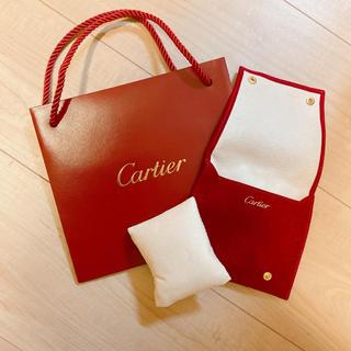 カルティエ(Cartier)の【値下げしました】カルティエ 時計 保管 袋 ケース 未使用美品(その他)