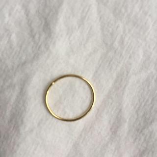 アッシュペーフランス(H.P.FRANCE)のsweet pea ピンキーリング18k(リング(指輪))