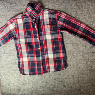 トミーヒルフィガー(TOMMY HILFIGER)のトミーフィフガーチェックシャツ(ブラウス)