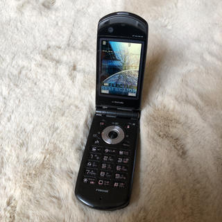 エヌイーシー(NEC)のdocomo  ガラケー N903i  FOMA(携帯電話本体)