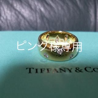 Tiffany & Co. - ティファニーK18ドッツリング