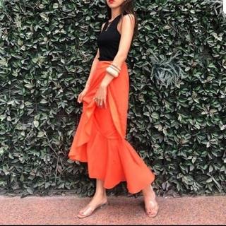 SeaRoomlynn - searoomlynn フリルラップスカート