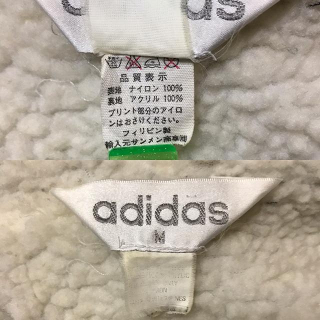 adidas(アディダス)のアディダス三つ葉の裏ボア あったかベンチコート 今で言うオリジナルス スポーツ/アウトドアのサッカー/フットサル(ウェア)の商品写真