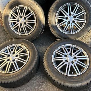 ブリヂストン(BRIDGESTONE)のブリジストン ブリザック レボ 1 タイヤ ホイール セット 4本 スタッドレス(タイヤ・ホイールセット)