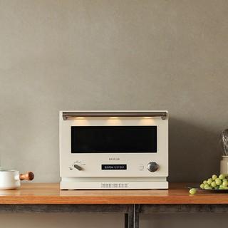 バルミューダ(BALMUDA)のバルミューダ オーブンレンジ The Range K04A-WH新品未開封(電子レンジ)