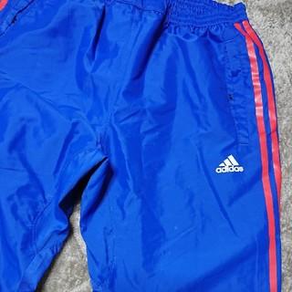 アディダス(adidas)のadidas アディダス ジャージ パンツ 2枚セット L ブルー 赤 ホワイト(ワークパンツ/カーゴパンツ)