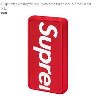 シュプリーム(Supreme)のSupreme mophie Powerstation wireless XL (バッテリー/充電器)