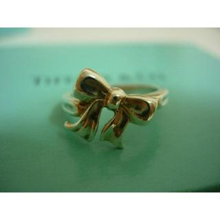 Tiffany & Co. - ティファニー💛リボンリング