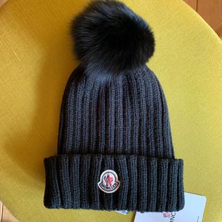 MONCLER - モンクレール ニット帽 moncler タグ付き