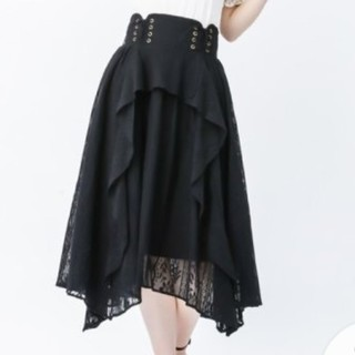 axes femme - 新品タグ付き アクシーズファム 総レーススカート