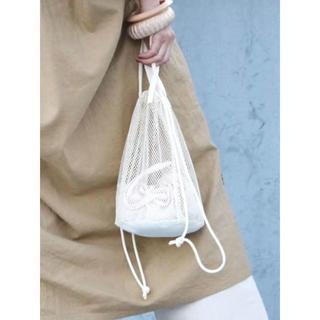 アングリッド(Ungrid)のT02599/Ungridメッシュ巾着BAG(その他)