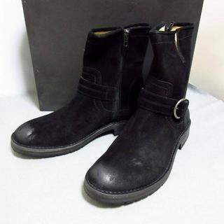 バーニーズニューヨーク(BARNEYS NEW YORK)の定価5万新品 バーニーズニューヨーク 上品ショートブーツ 9.5 27.5cm(ブーツ)