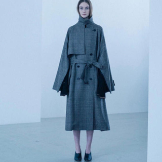 サンシー(SUNSEA)のstein ray oversized overrap coat (トレンチコート)
