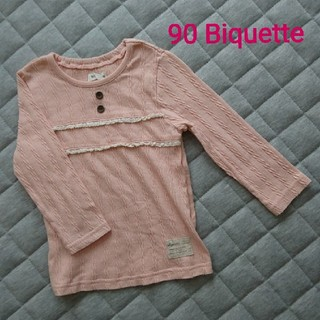 ビケット(Biquette)の90*Biquetteトップス(Tシャツ/カットソー)