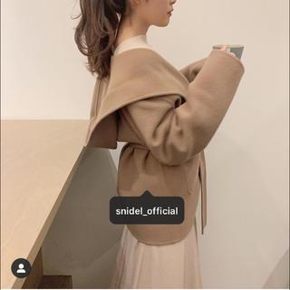 snidel - ❤️完売品❤️ スナイデル フードリバーミドルコート リバーコート 茶 茶色 ♡