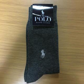 ポロラルフローレン(POLO RALPH LAUREN)の靴下『新品、未使用』(ソックス)