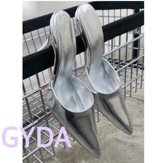 GYDA - GYDA ★ 2020 福袋 ポインテッドミュール パンプス M