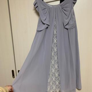 アクシーズファム(axes femme)のネックレス2wayドレス(ミディアムドレス)