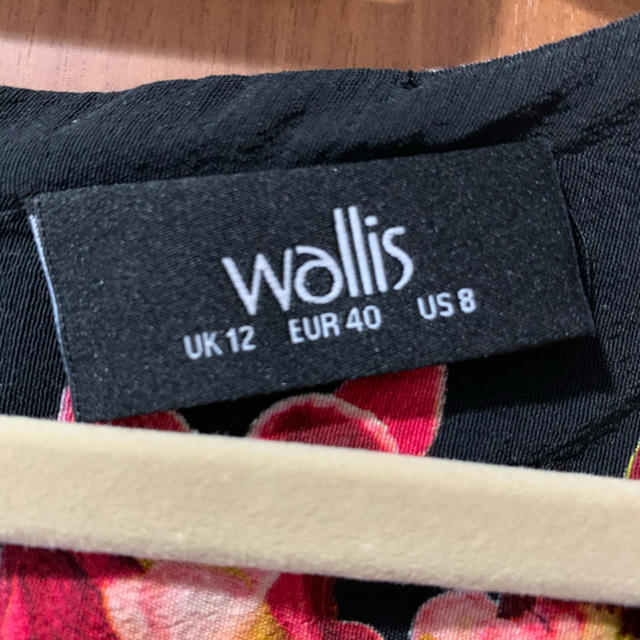 Wallis(ウォリス)のwallis ワンピース レディースのワンピース(ひざ丈ワンピース)の商品写真