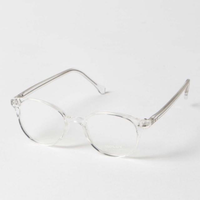 WEGO(ウィゴー)のクリアサングラス レディースのファッション小物(サングラス/メガネ)の商品写真