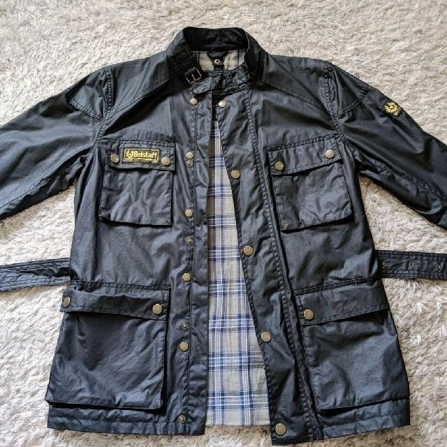 BELSTAFF(ベルスタッフ)のベルスタッフ BELSTAFF ゴールド コットンワックス sizeL メンズのジャケット/アウター(ライダースジャケット)の商品写真