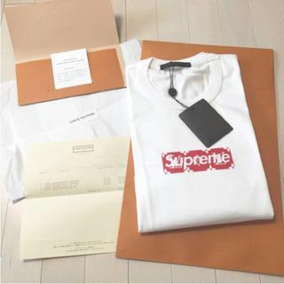 シュプリーム(Supreme)のsupreme ルイヴィトン boxlogo Tシャツ(Tシャツ/カットソー(半袖/袖なし))