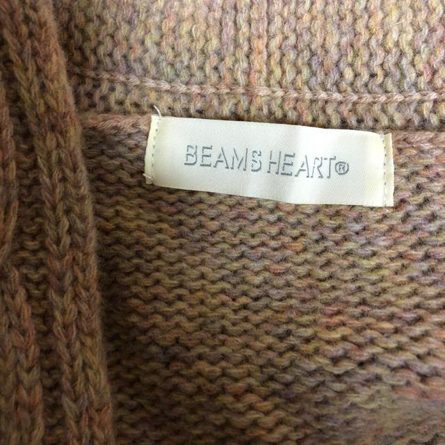 BEAMS(ビームス)のウール100%❤️ビームスハート ビッグシルエットカーディガン レディースのトップス(カーディガン)の商品写真