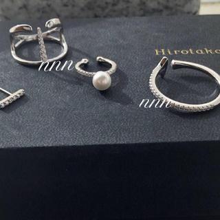 ヒロタカ Manta Spine Ring  silver925(リング(指輪))