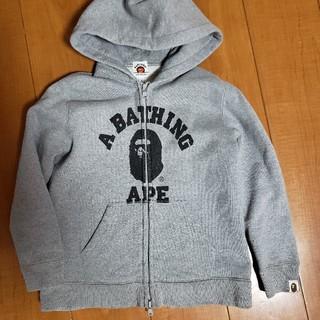 A BATHING APE - Bape Kids パーカー 130 エイプキッズ ベイプ APE
