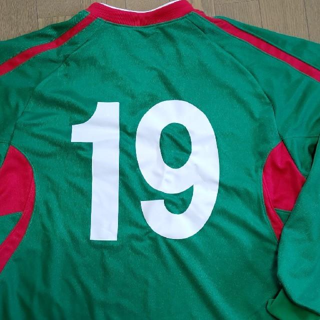 asics(アシックス)の作陽高校サッカー部 公式戦ユニフォーム スポーツ/アウトドアのサッカー/フットサル(ウェア)の商品写真