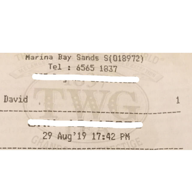 TWG  English  earl  grey 食品/飲料/酒の飲料(茶)の商品写真