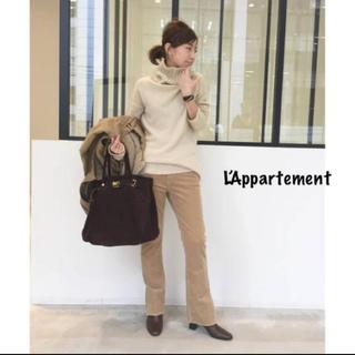 L'Appartement DEUXIEME CLASSE - L'Appartement◇アッパーハイツコーデュロイSLIT PANTS