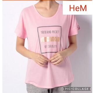 ヘム(HeM)のヘム HEM ピンクTシャツ(Tシャツ(半袖/袖なし))