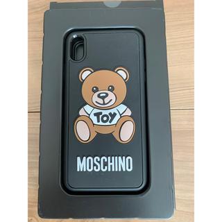 モスキーノ iPhone XS MAX iPhoneケース