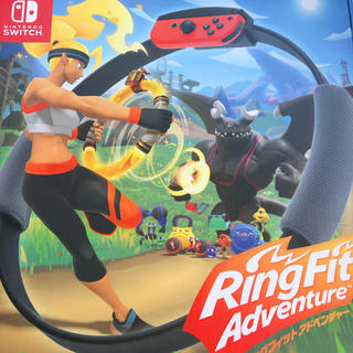 ニンテンドースイッチ(Nintendo Switch)のリングフィット アドベンチャー Switch 新品未開封(その他)