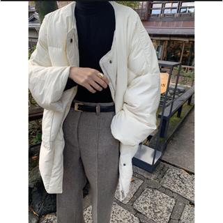 トゥデイフル(TODAYFUL)のnuebyas  center line wool pt(スラックス)