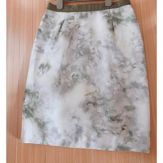 ジャスグリッティー(JUSGLITTY)のジャスグリッティー  フラワータイトスカート (ひざ丈スカート)