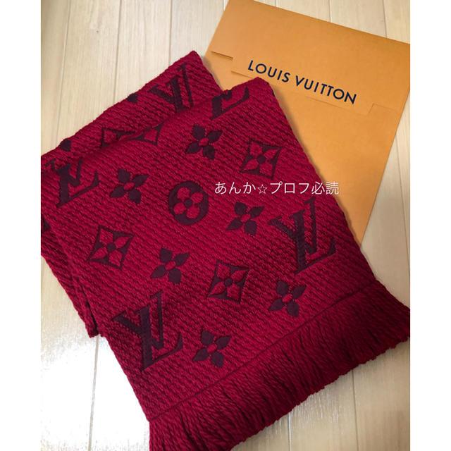 LOUIS VUITTON(ルイヴィトン)の新品未使用 ルイヴィトン ルビー マフラー レディースのファッション小物(マフラー/ショール)の商品写真