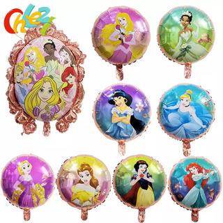 ディズニー(Disney)の9ピースセット☆プリンセスバルーン☆風船☆ホームパーティー☆誕生日☆お祝い☆装飾(手形/足形)