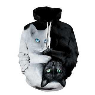 秋冬モノ最新入荷!ネコ好きな方に♡個性的ネコパーカー(パーカー)