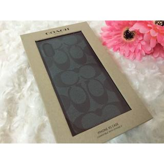 COACH - 週末セール!コーチ アイフォンケース【新品未開封!外箱綺麗】iPhoneX XS
