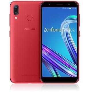 エイスース(ASUS)の新品 Zenfone Max M1 ルビーレッド SIMフリー(スマートフォン本体)