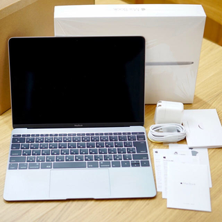 Apple - MacBook 12インチ Early2016 スペースグレイ 中古