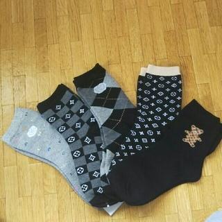 韓国靴下【5足set】