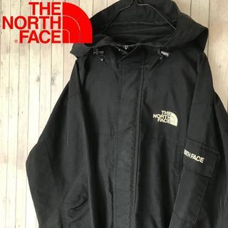 THE NORTH FACE - 【レア】ノースフェイス マウンテンパーカー 袖ポケット フード付き ブラック M