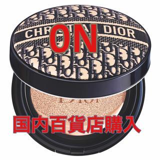 クリスチャンディオール(Christian Dior)のディオール 限定 ロゴマニア クッションファンデ 限定  0N 新品未使用(ファンデーション)