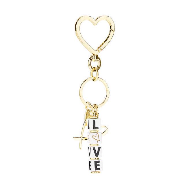 Victoria's Secret(ヴィクトリアズシークレット)の新品*ヴィクトリアシークレット*キーリング/バッグチャーム*Love Dice レディースのファッション小物(キーホルダー)の商品写真