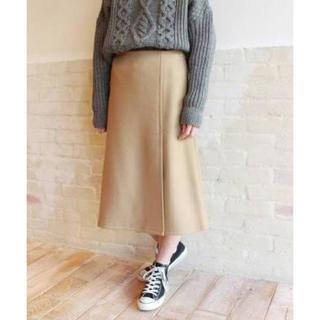 フレームワーク(FRAMeWORK)のフレームワーク/スピックアンドスパン/ラップスカート/ウールスカート(ひざ丈スカート)